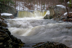 Spring Runoff (Kent Shaw Photography) Tags: water river waterfall vermont vt worcester