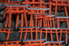 Affordable (veropie) Tags: travel japan kyoto shrine asia gates traveller traveling shinto shrines fushimiinari fushimi eastasia fushimiku notatourist shintogates