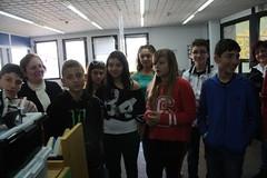 09/04/2014 Σχολείο: Γυμνάσιο Σταυρούπολης Θεσσαλονίκης, Δραστηριότητα: Ξενάγηση