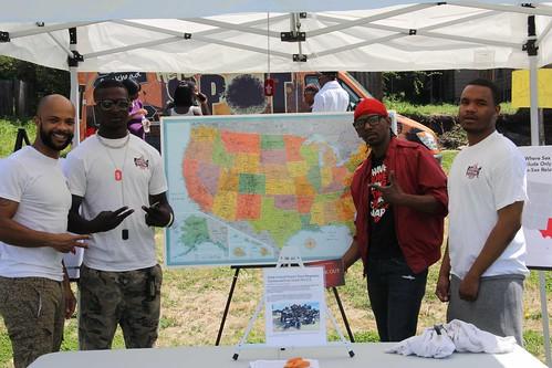 Condom Nation at the Vine City Youth Health Fair