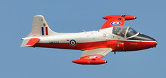 BAC 84 Jet Provost T5 XW324/U - Abingdon Air Show 2014 (Rob Lovesey) Tags: show air jet t5 abingdon bac 84 provost 2014 xw324u