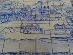 Azulejos com vista de Lisboa/ Carreaux avec vue de Lisbonne (Decors et imagens) Tags: film lisboa peinture filme cenrio pintura lisbonne azulejos cinma dcor scnographie