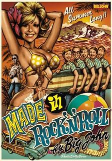 Rockin'Jelly Bean × Big John 「Made in Rock 'n' Roll」丹寧褲 第二彈!
