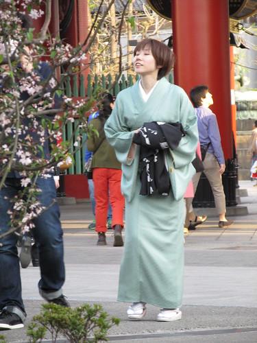 Kimono, Asakusa, Tokyo, Japon