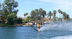 Colorado River (tquist24) Tags: summer arizona ski water river colorado skiing desert olympus coloradoriver boating waterskiing parker waterski c4100z olympusc4100z