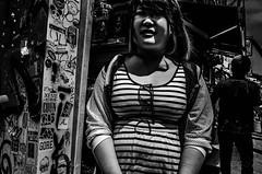 . (robbie ...) Tags: street portrait people urban bw white black sunglasses fashion japan photography japanese tokyo 28mm harajuku trendy metropolis gr ricoh