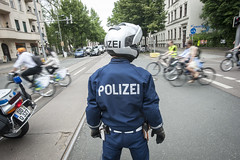 Leipzig Police make an appearance