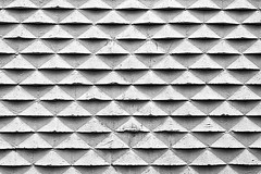 background with concrete blocks pattern (Mimadeo) Tags: blackandwhite white abstract black building brick texture rock stone wall architecture triangles tile concrete design construction pattern background gray cement masonry shapes surface structure mortar repetition backdrop strong material blocks block rough textured repeat solid triangular repetitive