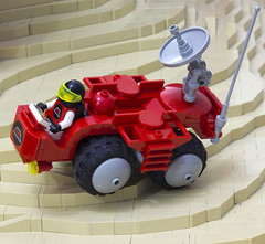 M:Tron Rover (Blake Foster) Tags: classic landscape lego space rover minifig afol mtron