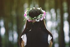 Deepest Mind - Evi.Natalia (Alveus Henry) Tags: portrait flower girl beauty forest asian photography warm bokeh like charm it flare concept photoshot deepest flowercrown alveushenry