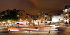 London (piotte.davy) Tags: london night lights lumire trafalgar trafalgarsquare bigben londres rondpoint