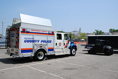 Westchester County Department of Public Safety, Westchester County Police (zamboni-man) Tags: park new york rescue ny ford public port truck demo fire highway tahoe police pd rye chester chevy valley works vehicle trucks hudson plow signal ems federal department playland westchester fd dpw whelen commad deparments