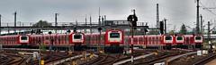 """The sprint for the line"" (allport.colin) Tags: city station germany hamburg ubahn altona"