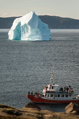 DSCF9846 (d_carberry) Tags: ocean newfoundland boat fuji iceberg xe1