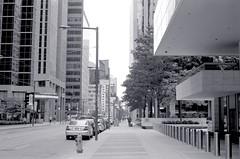 Quiet Sunday on King St. (Bill Smith1) Tags: toronto downtown nikonf ilfordhp5400 hc110b nikkorh50f2lens
