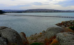 Looking Across from Granite Island to Victor Harbour... (The Pocket Rocket) Tags: rocks walk southaustralia causeway victorharbour fleurieupeninsula graniteisland 362 encounterbay explore362