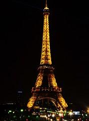 Eiffel Tower (Night), Paris