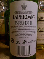 Laphroaig 13yo 50.5% Brodir (eitaneko photos) Tags: tokyo bottle october single whisky cl laphroaig 505 2012 malt 13yo brodir