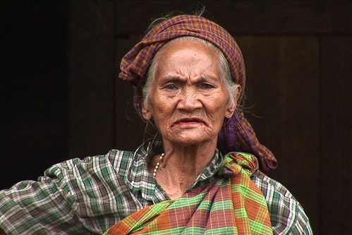 ‌Indonesia - Flores - Old Woman - 2