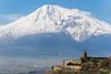 Ararat (Dr. Harout) Tags: mountain landscape view sony telephoto armenia slt amount ararat dyxum lusarat եկեղեցի sal70300g խորվիրապ արարատ մասիս սար տեսարան slta99v ձիւն գագաթ