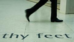 thy feet (Greg Adams Photography) Tags: greatbritain travel england people feet walking words spring movement floor legs text ground courtyard below britishmuseum 2014 hhsc2000