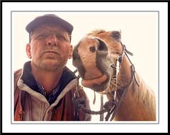 Daar zijn we weer (gill4kleuren - 11 ml views) Tags: life horse me sarah fun outside happy running gill saar paard haflinger