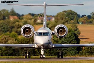 VP-CJL Gulfstream Aerospace G-V-SP Gulfstream G550