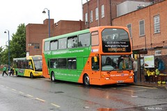 Nottingham 672 YN07EYP (Andy4014) Tags: city nottingham travel bus history transport right route 35 scania nct bulwell yn07eyp