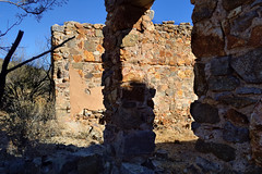 Jail ruins - Courtland, Cochise County, Arizona - early 20thC copper mining ghost town (edk7) Tags: old arizona usa abandoned architecture ruins structure jail scrub sonorandesert courtland dragoonmountains early20thc cochisecounty 2013 d3200 coppermining historicghosttown edk7