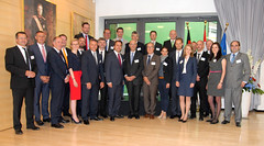 Mr Bettel and the business club luxembourg in Berlin
