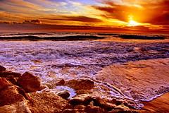 :)) (Zéza Lemos) Tags: sunset sol praia portugal water água mar tramonto barcos natureza natur céu algarve capture vilamoura ondas puestadelsol rochas pordesol amazingphoto
