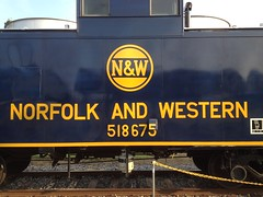 Norfolk & Western C-31 518675 #NW #Caboose #518675 (Conrail6699) Tags: museum nw north caboose transportation carolina 518675