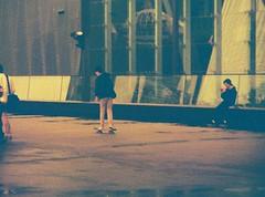 Kid on skateboard (1) (Matthew Paul Argall) Tags: 110 skateboard 2014 redscale