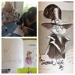 Tebo & Kramidas (nefasth) Tags: comic montral tebo bandedessine ddicace donjon diptic fbdm dipticapp kramidas lateliermastodonte
