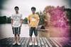 """关湖旁 (敗給考試) Tags: film 35mm vintage f14 sony leak ts a7 customs 毕业 tiltshift 兄弟 记忆 """"shanghai samyang 复古 college"""" 移轴 上海海关学院"""