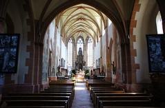 Oberwesel church interior