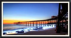 Bridge into Paradise (**James Lee**) Tags: bridge panorama seascape nature landscape long exposure heaven paradise pano jetty australia nsw milky catherinehillbay sunsise