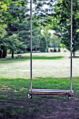 (katiegodowski_photography) Tags: green love college nature colors fun outside vermont swings landmark putney 802