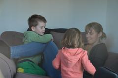 Noah, Louisa et Paula