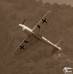 Messerschmitt Me-109 (Andrea  Perotti) Tags: switzerland tessin ticino wwii airshow worldwarii portfolio svizzera mybest magadino secondaguerramondiale baseaerea messerschmittme109 lodrino cieloaperto2014