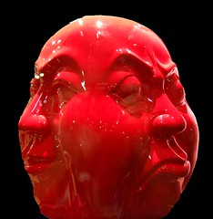 ART (Tear Drop Reflections Photography) Tags: dallas dallastexas texas art dallasartsdistrict arts district artsdistrict artsdistrictdallas sculpture twoface chinese