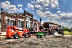 NC Transportation Museum - Spencer, NC (ncbillyboy) Tags: museum canon nc norfolk steam transportation historical restoration locomotive spencer hdr 611 60d