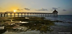How about a sunset shot with some rocks and a pier in the foreground? (Rex Montalban Photography) Tags: sunset mexico pier playadelcarmen mayanpalaceresort rexmontalbanphotography