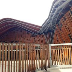 Mercat Santa Caterina, Barcellona (maqualedesignblog) Tags: santa wood by photo barca structure caterina barcellona | mercat santacaterina archidaily archimood archello mvmqd