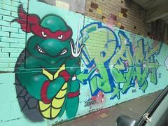 PAST (Brighton Rocks) Tags: graffiti brighton past