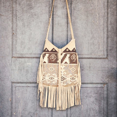 Apache Wind Bohemian Cowgirl Shoulderbag (ZiBagz) Tags: recycle bohemian handmadepurse handmadebag bohochic westerncowgirl repurposedleatherjacket