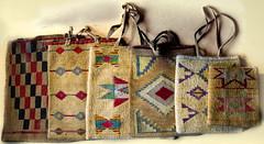 Nez Perce cornhusk bags (Clever Poet) Tags: corn native tribal american bags tribe nez perce