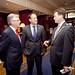 Tim Fenn, CEO IHF, Minister Leo Varadkar, Stephen McNally, President IHF
