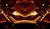 Resistance is futile.... (Tau Zero) Tags: robot headlight corvette redscale digitalmirror