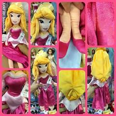 "Disney Store USA 20"" Princess Plush Doll น้องออโรร่า Sleeping Beauty   - Aurora ชมพู - Bell เหลือง - Mermaid เงือก - Snow White สโนไวท์ - Cinderella ฟ้า - Rapunzel ราพันเซล ม่วง  สินค้านำเข้าจากอเมริกา  ตุ๊กตาเจ้าหญิง นุ่มน่ากอด ยัดโพลีเอสเตอร์ กันไรฝุ่น"
